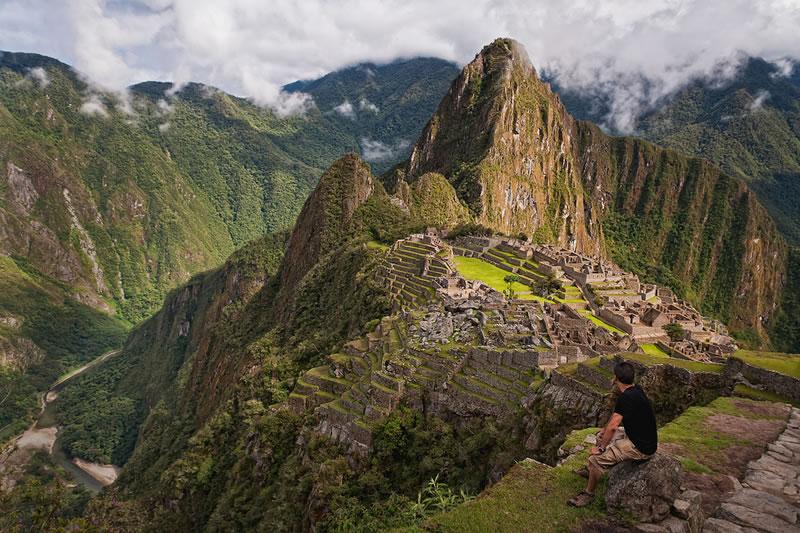 salud en su visita a Machu Picchu