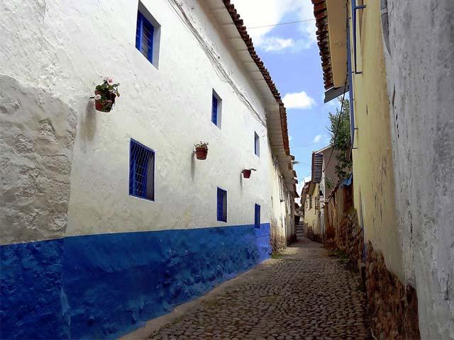 Callecita tipica del barrio de San Blas