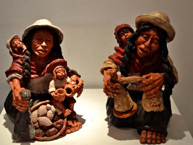 Piezas de artesania de la Casa Mérida