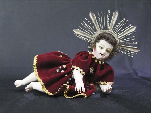 Niño Manuelito del artesano Antonio Olave