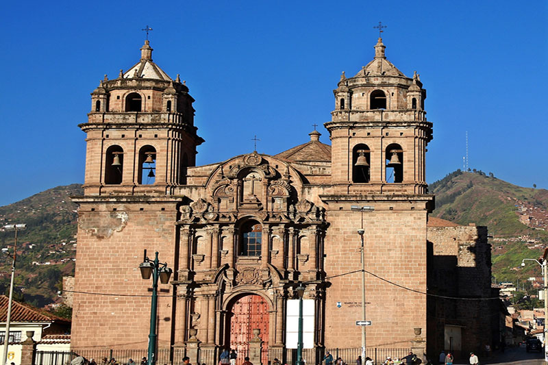 The church of San Pedro