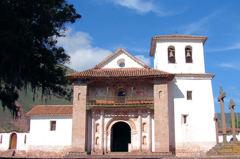 Church of San Pedro de Apóstol in Andahuaylillas