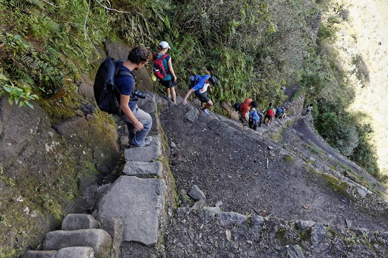 Wandern in Machu Picchu