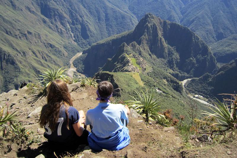 senderismo montaña de Machu Picchu