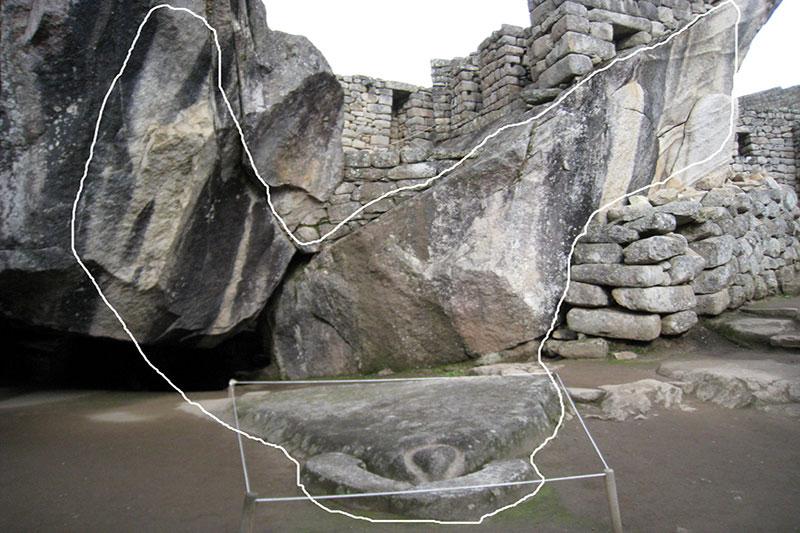 Condor machu picchu temple