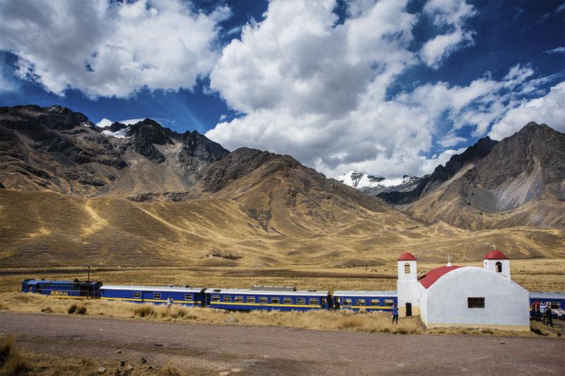 Tren Cusco - Puno