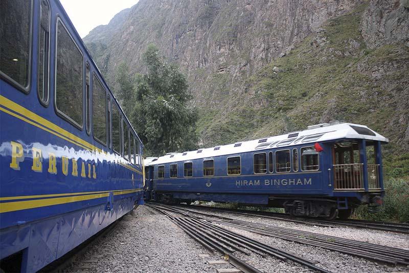 Estacion de tren de Ollantaytambo