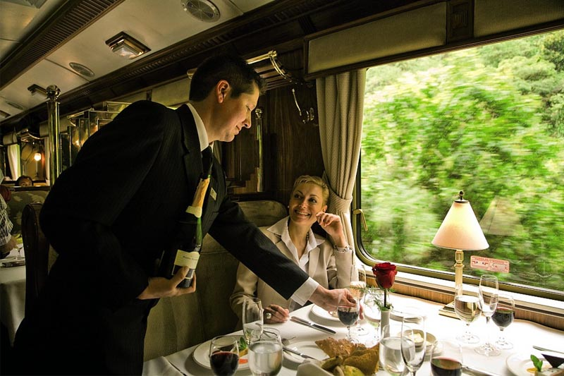 Train Hiram Bingham to Machu Picchu