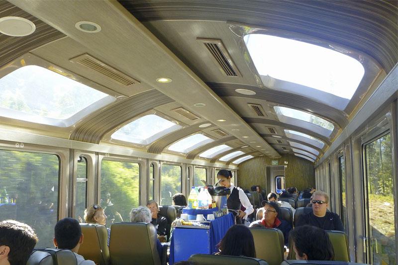 Vistadome-Zug nach Machu Picchu