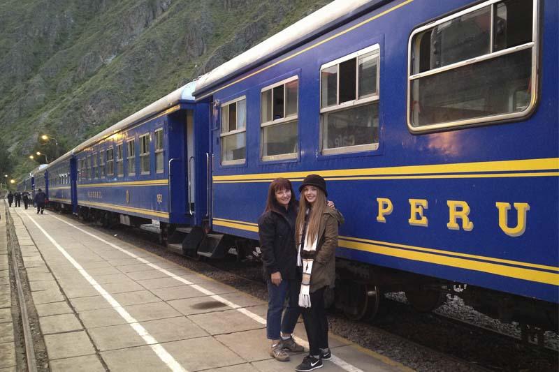 Estación de tren Machu Picchu