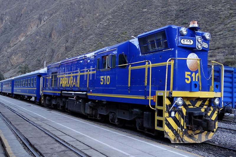 Trem Machu Picchu Peru Rail