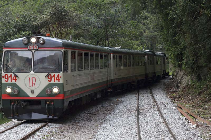 Train service of Inca Rail
