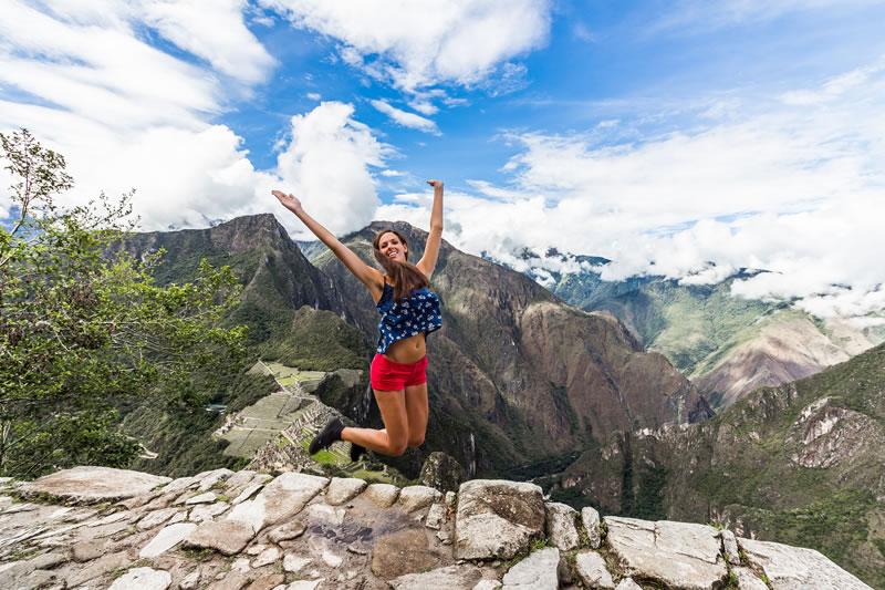 Topo da montanha Huayna Picchu