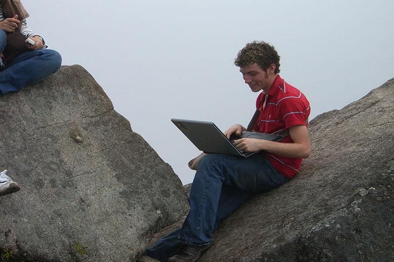 Internet en Machu Picchu