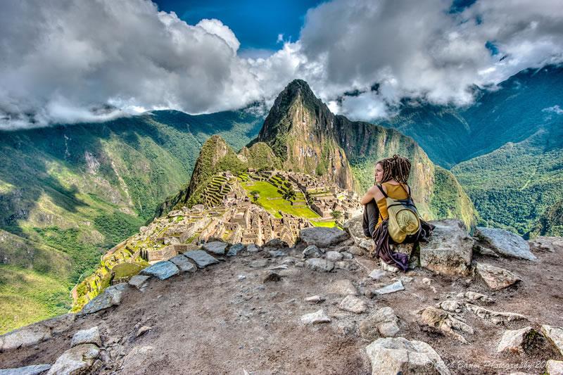 maravilla de Machu Picchu