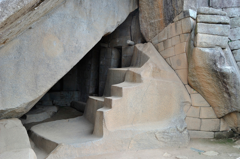 mausoleo real Machu Picchu