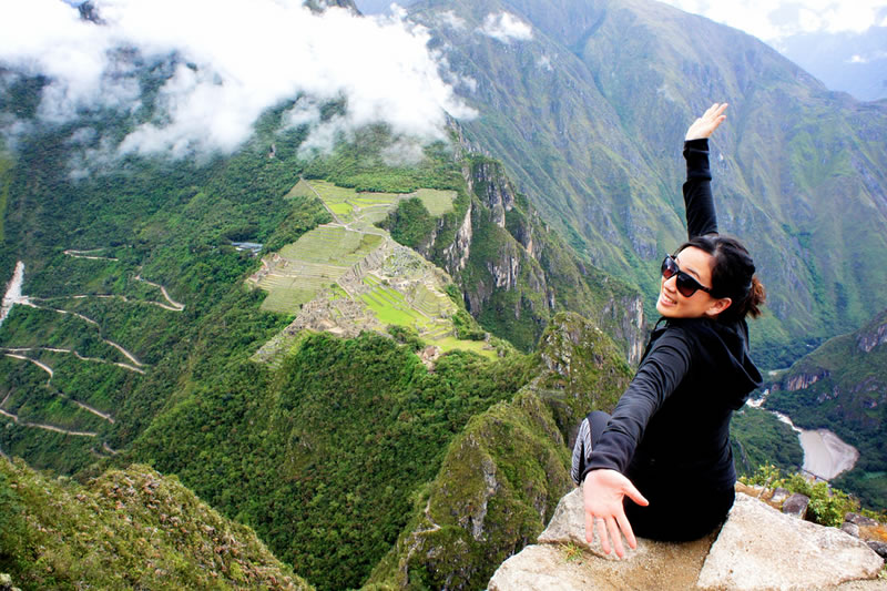 Huayna Picchu viewpoint