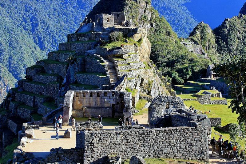 Plaza sagrada Machu Picchu