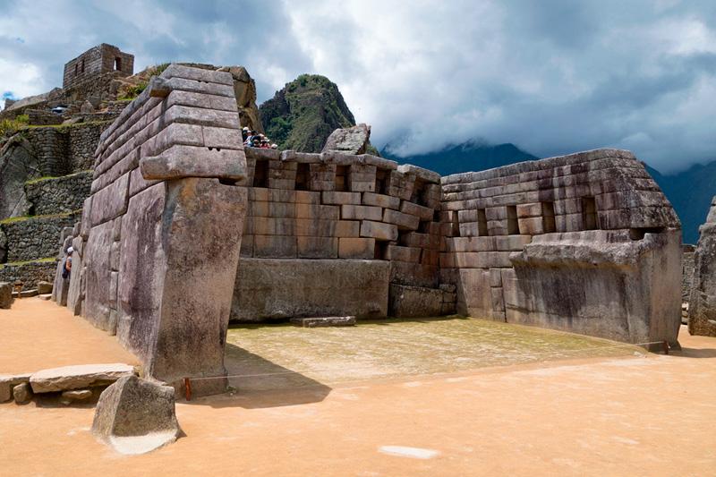 templo principal Machu Picchu