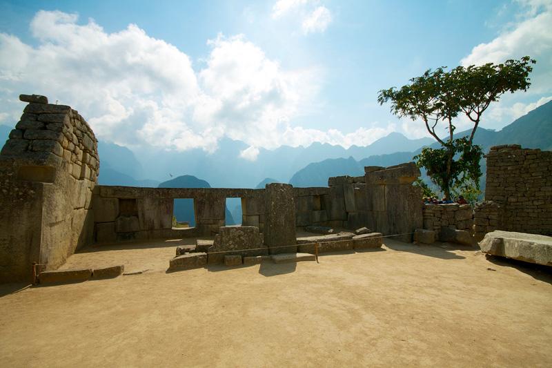 Templo tres ventanas Machu Picchu