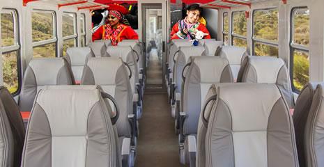 Tren Inca Rail a Machu Picchu