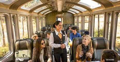 Tren Peru Rail a Machu Picchu