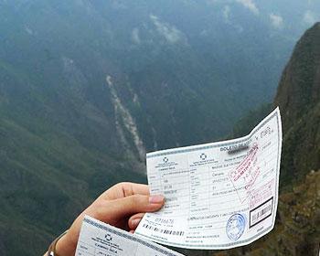 ¿Cómo recibiré el Boleto Machu Picchu?