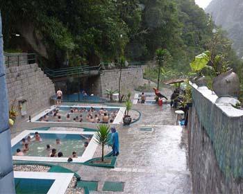 Aguas Termales en Machu Picchu Pueblo