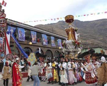 Calca en el Valle Sagrado de los Incas