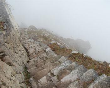 Huayna Picchu: Las escaleras de la muerte