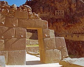 El sitio arqueológico de Ollantaytambo en el Valle Sagrado
