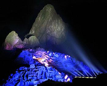 Vida nocturna en Machu Picchu