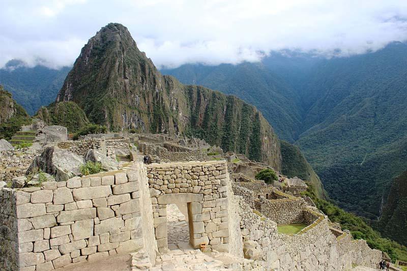 Machu Picchu - Entrada