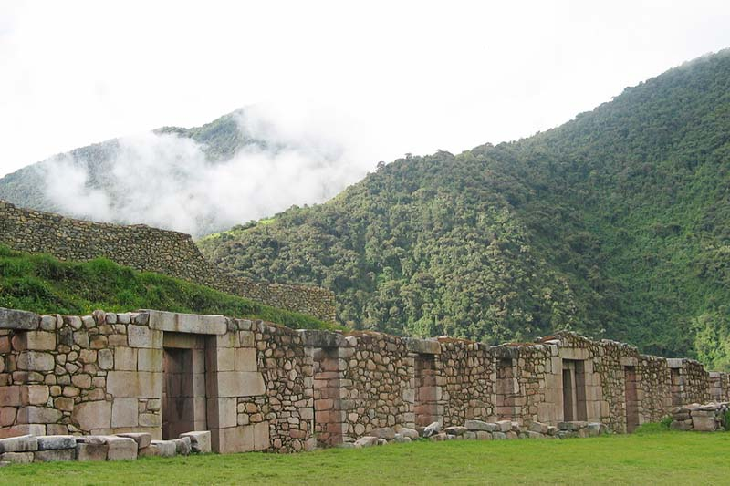 Inca city of Vilcabamba