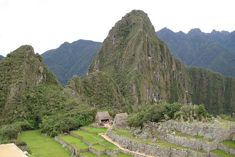 Vista de la Montaña Huayna Picchu