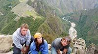 Vértigo y adrenalina en la montaña Huayna Picchu en Machu Picchu
