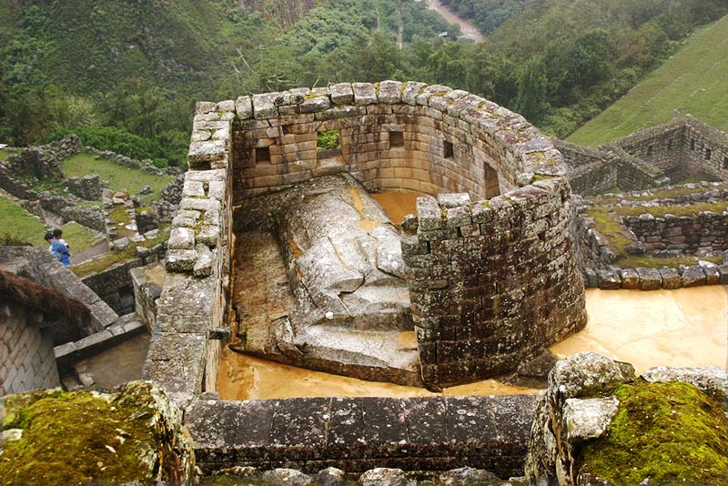 Recinto del Templo del Sol en Machu Picchu