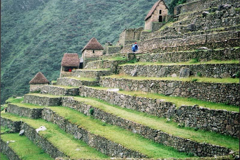 Terrazas o andenes de los incas