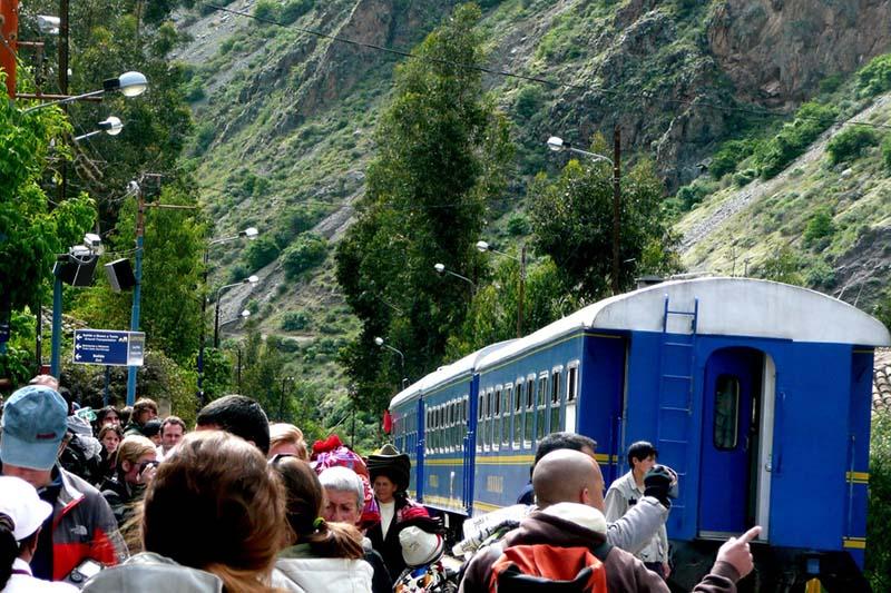 Train Station Machu Picchu