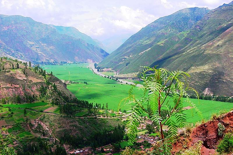 Sacred Valley in the rainy season