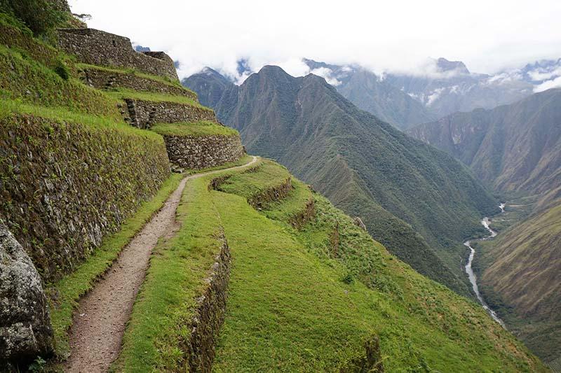 Ruta del Camino Inca hacia Machu Picchu