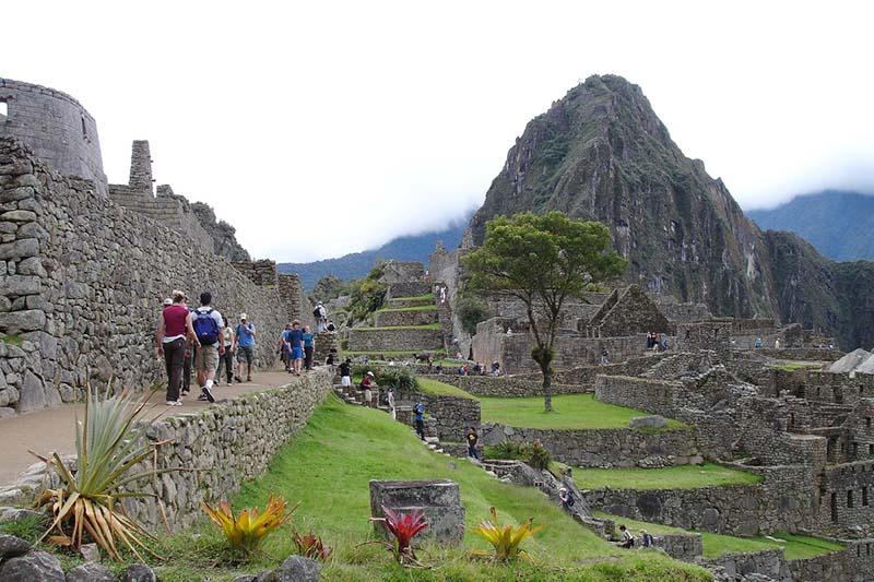 Caminata en Machu Picchu