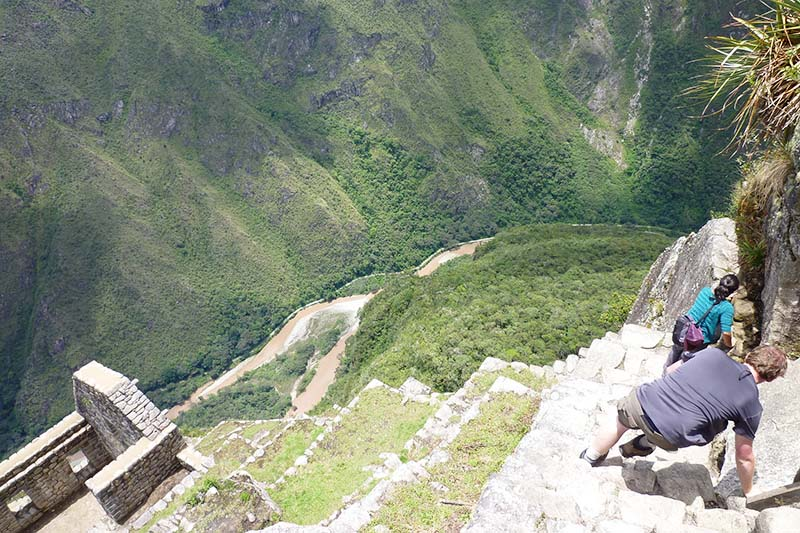 Vista de la montana Huayna Picchu