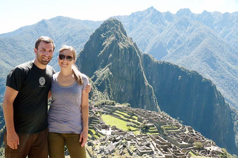 Vista panoramica de Machu Picchu