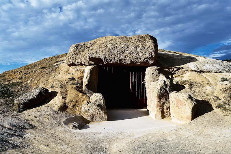 Entrada de la Cueva Manga en España