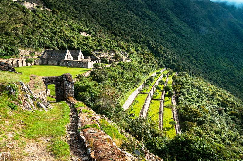 Vista panoramica de Choquequirao