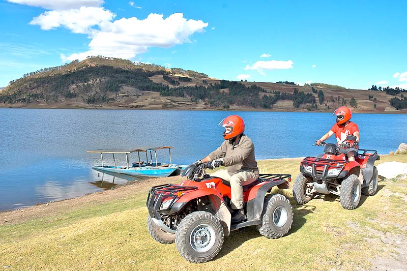 ATV ride in Cusco