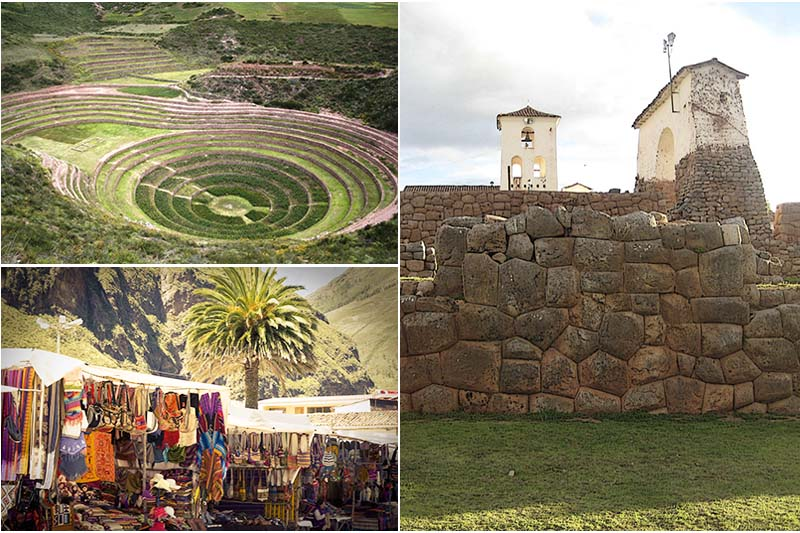 Restos incas en el Valle Sagrado