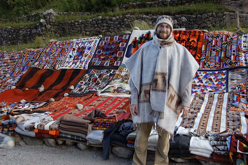 Buying in in Sacred Valley of the Incas