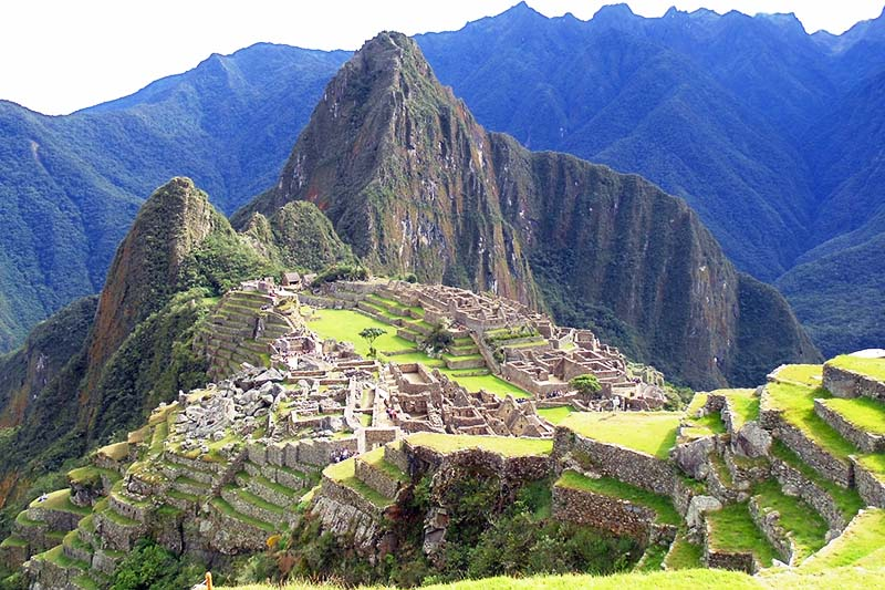 Vista general de Machu Picchu